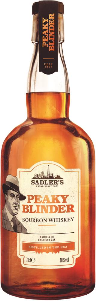 Peaky Blinder Peaky Blinder Bourbon 40% 0,7l