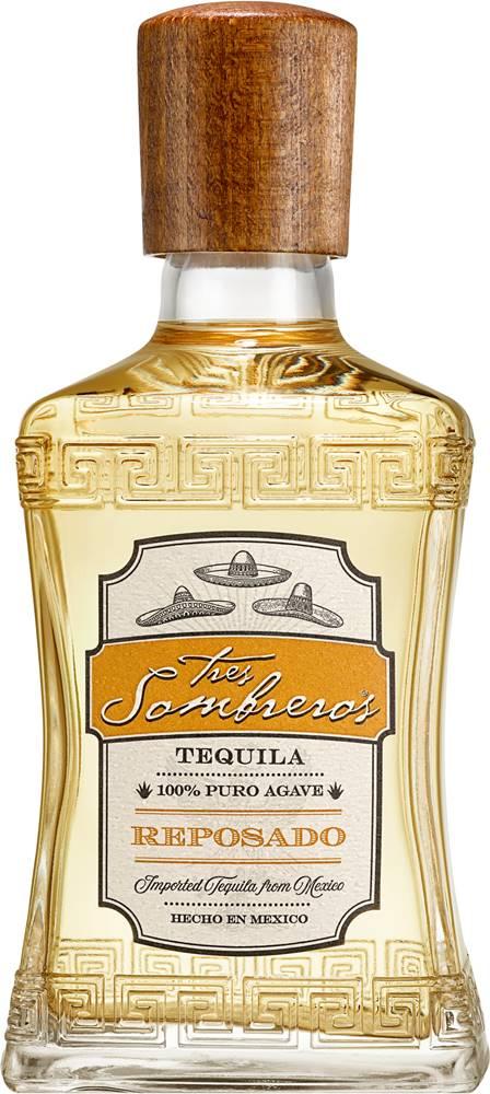 Tres Sombreros Tres Sombreros Tequila Reposado 38% 0,7l