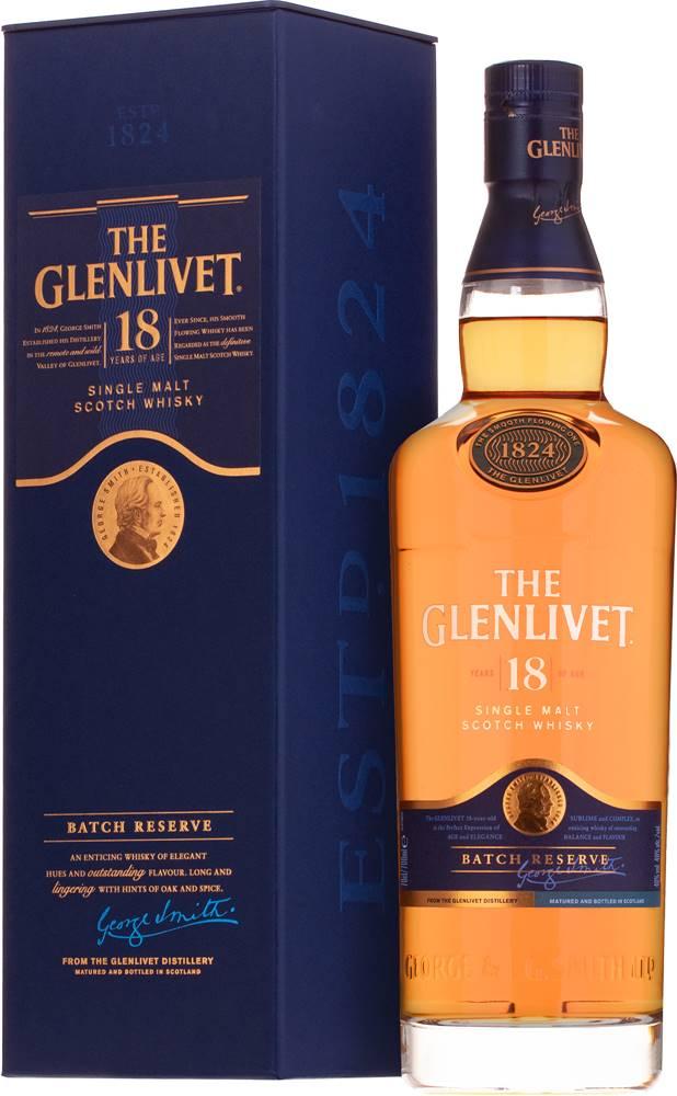 The Glenlivet The Glenlivet 18 ročná 40% 0,7l