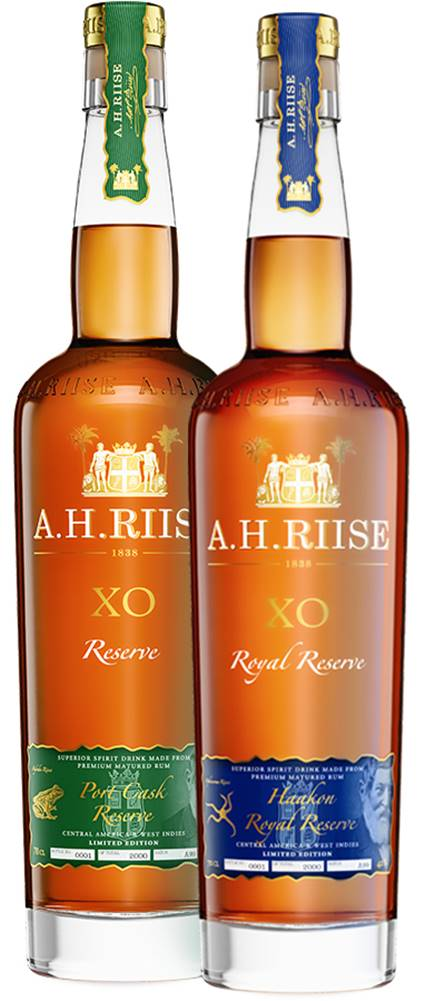 A.H.Riise A.H. Riise XO Port Cask + Kong Haakon