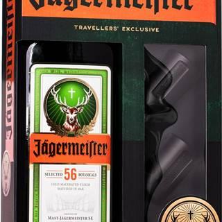Jägermeister 1,75l + 2 poháre + pumpa 35%