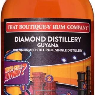 That Boutique-y Rum Company Diamond Distillery 18 ročný 51,3% 0,5l