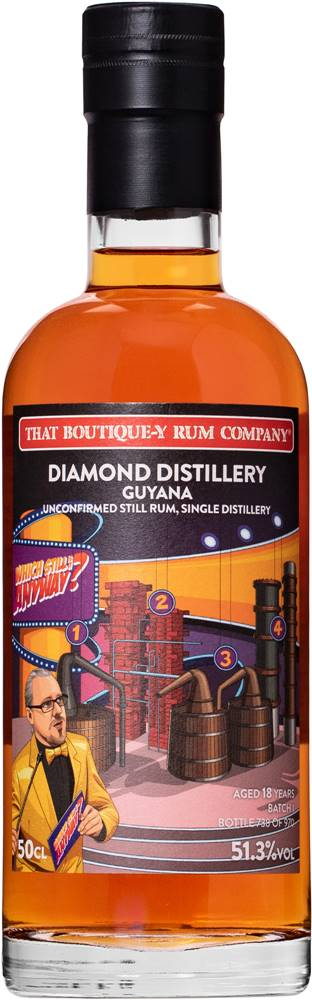 That Boutique-y Rum Company That Boutique-y Rum Company Diamond Distillery 18 ročný 51,3% 0,5l