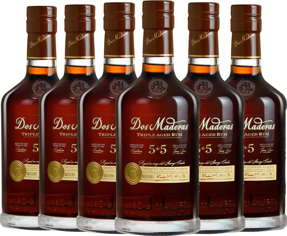 Dos Maderas Set 6 x Dos Maderas PX (5+5) + poháre