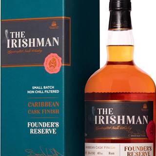 The Irishman Founders Reserve Caribean Cask Finish 46% 0,7l