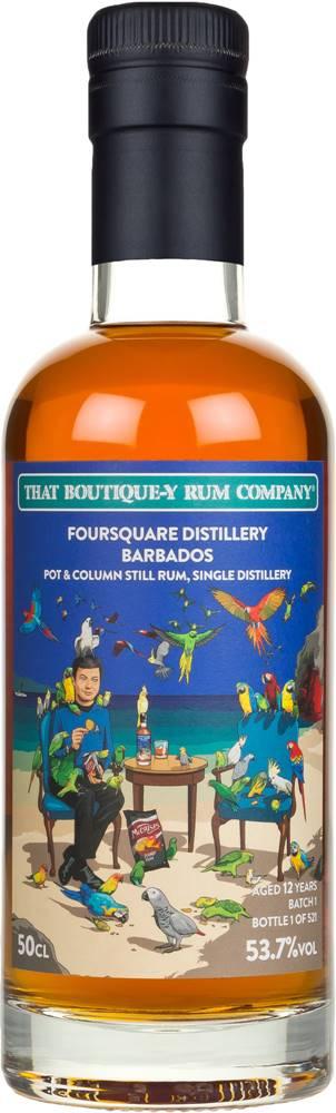 That Boutique-y Rum Company That Boutique-y Rum Company Foursquare 12 ročný 53,7% 0,5l