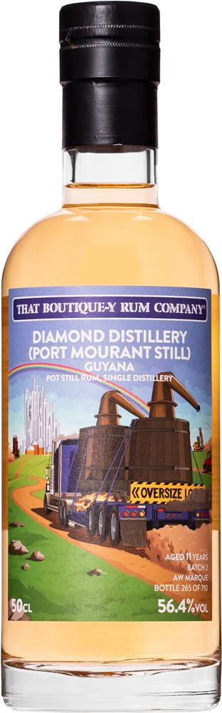 That Boutique-y Rum Company That Boutique-y Rum Company Guyana 11 ročný 56,4% 0,5l