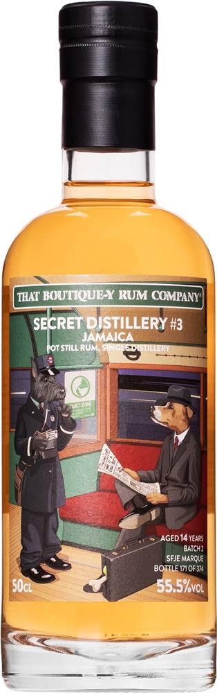 That Boutique-y Rum Company That Boutique-y Rum Company Secret Distillery 14 ročný 55,5% 0,5l