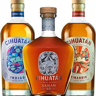 Set Cihuatán Indigo + Cinabrio + Xaman