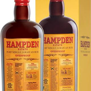 Hampden Estate Overproof 60% 0,7l