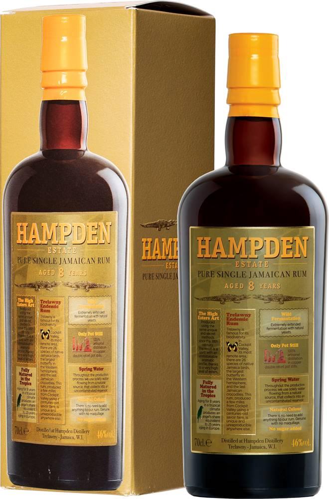 Hampden Hampden 8 ročný 46% 0,7l