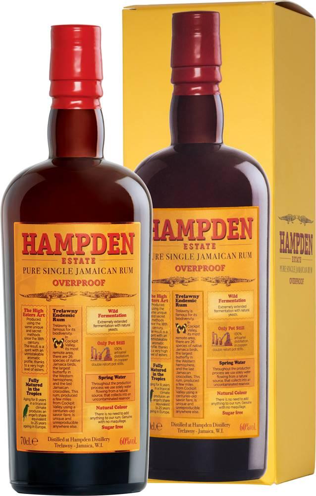 Hampden Hampden Estate Overproof 60% 0,7l