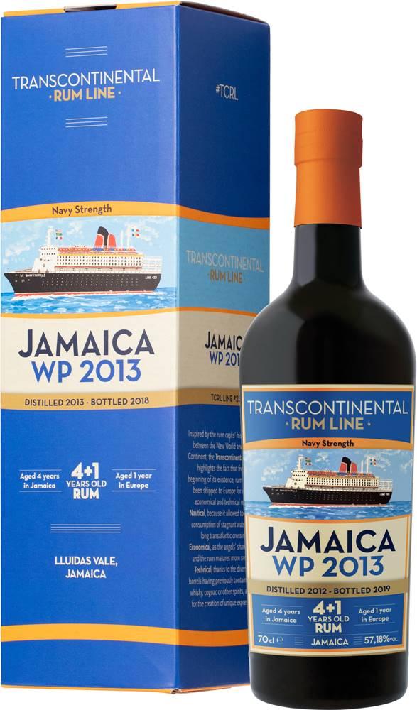 Transcontinental Rum Line Transcontinental Rum Line Jamaica 2013 57,18% 0,7l