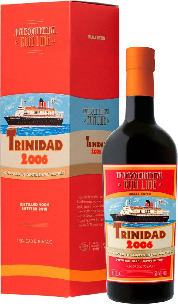 Transcontinental Rum Line Transcontinental Rum Line Trinidad 2006 56,5% 0,7l