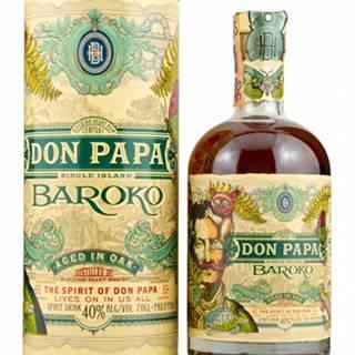 Don Papa Baroko 0,7l (40%) + GB
