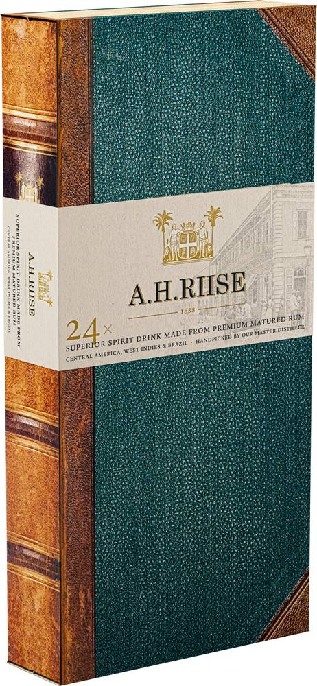 A.H.Riise A.H. Riise 24 Experiences 24 x 0,02l 41,92% 0,48l