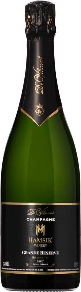 Hamsik Winery Hamsik Champagne Grande Réserve Premier Cru Brut 12,5% 0,75l