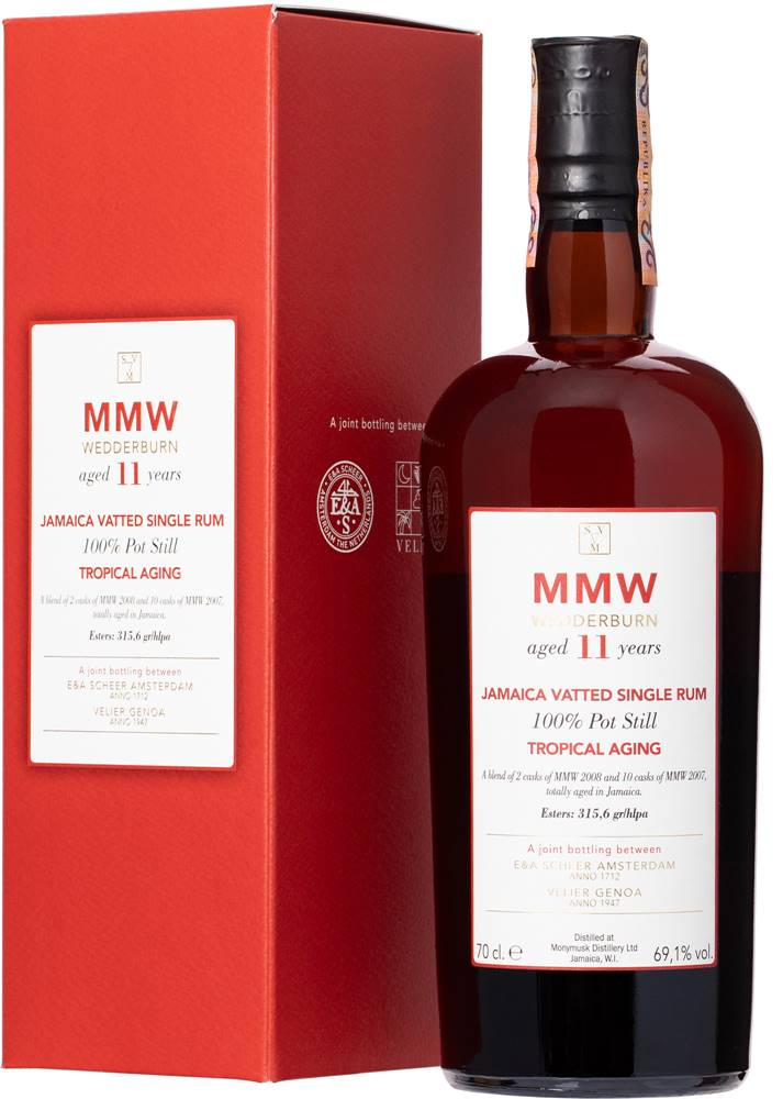 SVM SVM 11 ans MMW Blend Tropical Aging Wedderburn 69,1% 0,7l